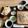 蕎麦切 ゆる里 - 料理写真:天セイロ定食