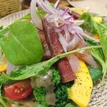 ボッチーノ - 料理写真:ひめ鯛に野菜が最高(人*´∀`)♥