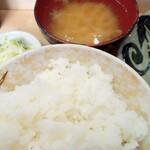 看貫場 - ロ-スカツ定食