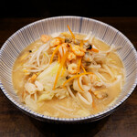 らーめん専門店小川 - 料理写真:【10/1-11/15限定麺】野菜山盛り海鮮らーめん
