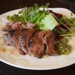 裏剣 - 和牛ランプステーキ