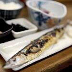 魚力 - 久しぶりに食べるさんまは、流石の高級魚。。絶品でした^^