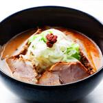 らーめん専門店小川 - 料理写真:【10/1-11/15限定麺】ぴり辛肉らーめん