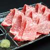 焼肉 富士 - 料理写真:とろける牛刺は、少し炙ると甘みが増して‥もうヤミツキ!!