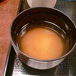 15973905 - 味噌汁。具は豆腐です。