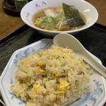 159730245 - チャーハン+ラーメン ¥600(税込)