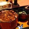 うなぎの大新 - 料理写真:のりわさ丼(ひつまぶし、一匹)