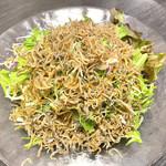 銀の穂 - じゃこサラダ