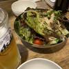 ホルモン屋 雷神 - 料理写真:野菜サラダ(チョレギサラダ風)