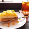 楽 - 料理写真:パイナップルのタルト(380円)