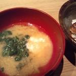 15975358 - 味噌汁&白ご飯