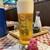 十割そば 香寿庵 狭山別館 - ドリンク写真:生ビール ¥600