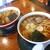 馬肉ラーメン やまき - 料理写真:馬肉醤油ラーメン(左)& 馬肉醤油ラーメン(大盛り)