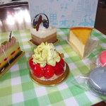 フラスコ - 料理写真:ケーキ類