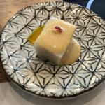 159769680 - 里芋豆腐とアーモンド味噌