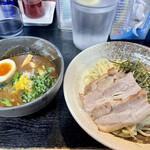 麺屋 青山 - 料理写真:ちゃーしゅーつけ麺 こってり