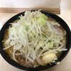 ラーメン二郎 - 料理写真:味噌ラーメン(にんにく)