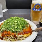 広島流お好み焼き 七夜 - 料理写真:七夜焼と零ICHI