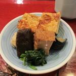 仁行 - 出汁巻き卵と煮物