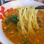 中華麺屋たのしや - 赤辛担々麺