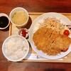とんかつ kitchen かもめ亭 - 料理写真:とんかつ&自家製クリームコロッケ 1280円
