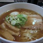 ラーメン専門店 徳川町 如水 - 香りそば・しょうゆ、煮卵追加