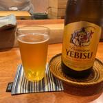 寿司 あさ海 - 寿司あさ海(瓶ビール)