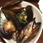 アルモニーア - 今日のムール貝もおいしかったです。 毎日でも食べていたい ((*´∀`*))