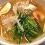 焼肉KUTARO - 何故か… 冷麺。