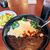 オーシャン テラス コーラルリーフ - 料理写真:ほうれん草と卵とチーズの黒カレー