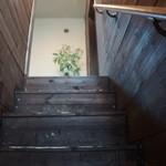 紫陽花珈琲 - 2→3階にいく厳しい階段