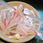 赤とんぼ - トビウオの刺身
