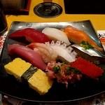 がってん寿司 -  承知10貫握りランチ960円