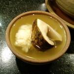 花狩人 かとう - 松茸の土瓶蒸し