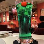 チェリー - ソーダ水(炭酸なし)