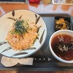 麺や 新のすけ - エビチャーハン
