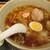 保谷大勝軒 - 料理写真:「ワンタンメン(麺少なめ)+ネギダブル」
