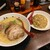 山神山人 - 料理写真:豚骨ラーメンとチャーハン