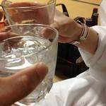 常盤館 - コンパのお姉さんとすっかり意気投合で乾杯