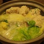 明島 - (鳥)つみれ鍋
