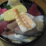 かのえずし - ちらし定食(ちらし寿司)