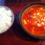 ソウルハウス - 純豆腐チゲ ¥780→650