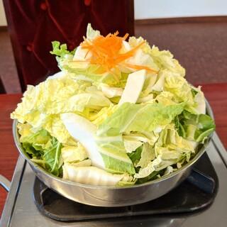 びわこ食堂 - 料理写真:配膳された時の状態