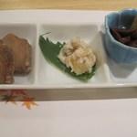 加賀味 - 前菜~。