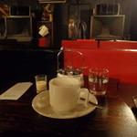 15987481 - アルテックA7(ヴォイス・オブ・シアター)とホットコーヒー
