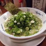 博多長浜らーめん たいちゃん - ネギラーメン 750円
