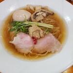 麺道わがまんま - 料理写真:ボルチーニら~めん