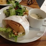 MACOU'S BAGEL CAFE - ランチセット