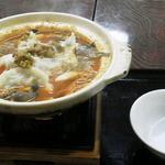 湯~眠 - 料理写真:担担餃子鍋580円