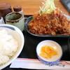 麦 - 料理写真:トンカツセットです☆ 2021-1009訪問